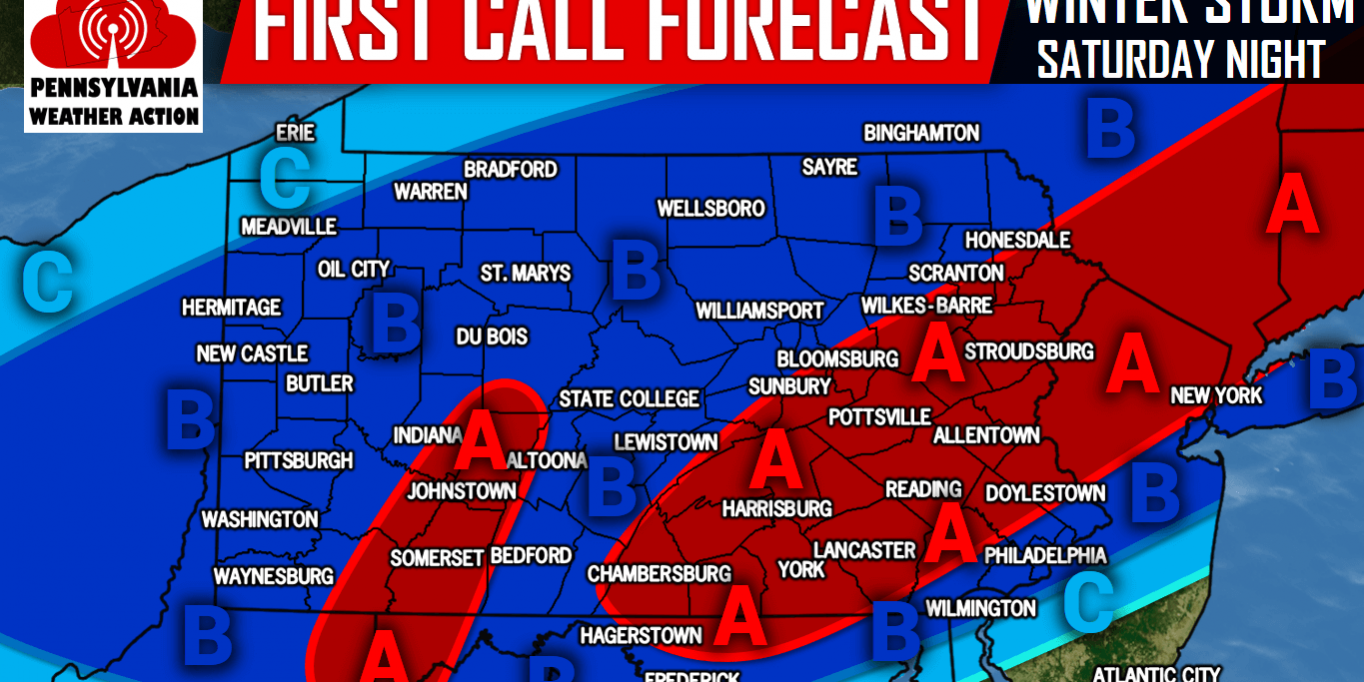 First Call for Saturday Night's Quick-Hitting Winter Storm