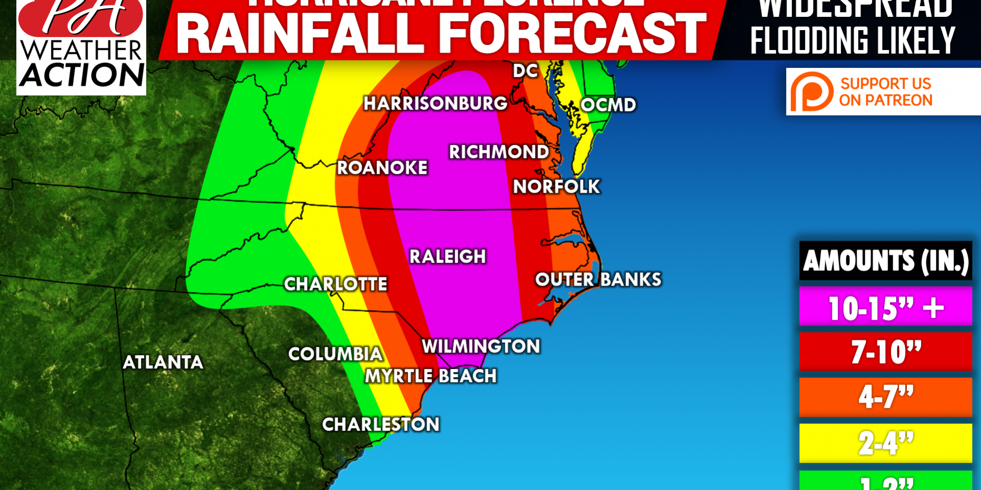 Major Hurricane Florence Will Have Catastrophic Impacts on East ...